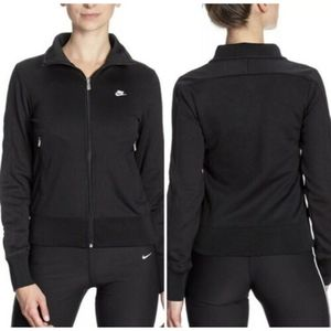 Nike National 98 Womens Track Running Jacket Black